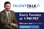 Chris Dyer's TalentTalk radio show interview